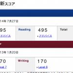 192回TOEIC結果(オンライン)