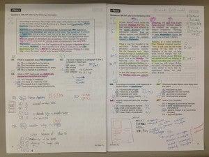 マーカー記入済み Part 7問題用紙