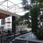 エキナカカフェのテラス席